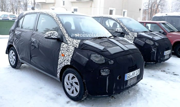 2018 hyundai santro spied winter testing to debut at auto