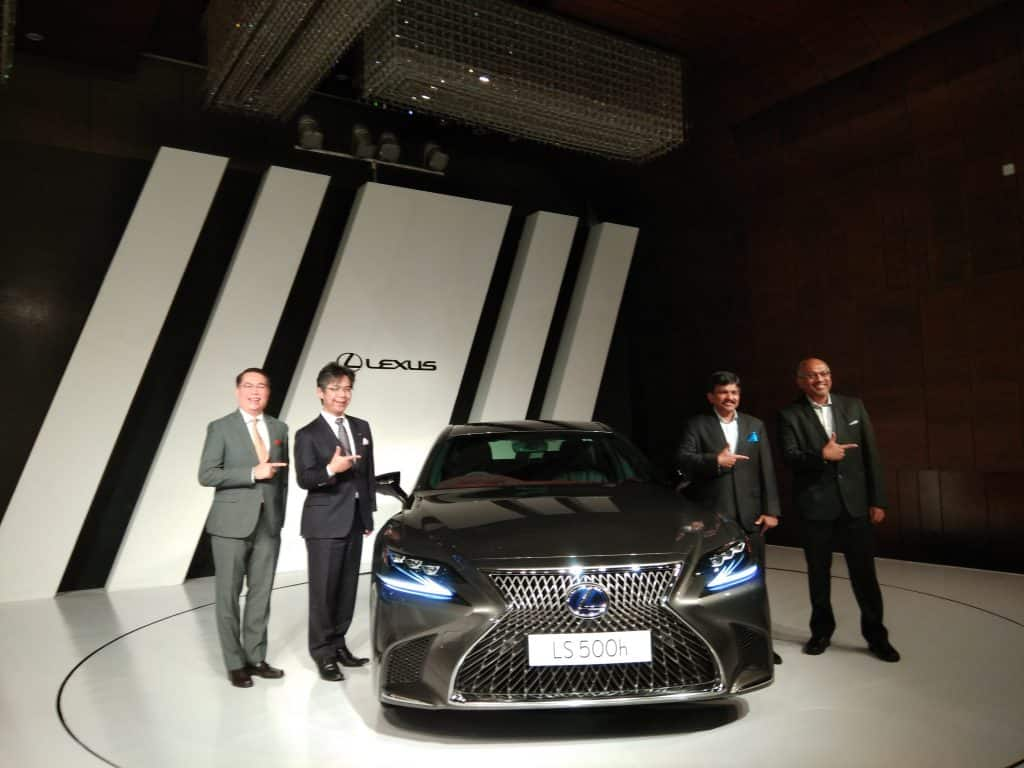 Lexus LS 500h launched at Rs 1.77 crore