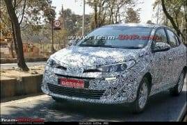 Toyota Yaris Ativ Spotted Testing in India; Expected Price, Launch Date, Images, Interior, Specification