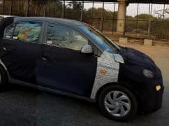Hyundai Santro 2018 (Hyundai AH2) Continues Testing in India Ahead of Official Debut at Auto Expo