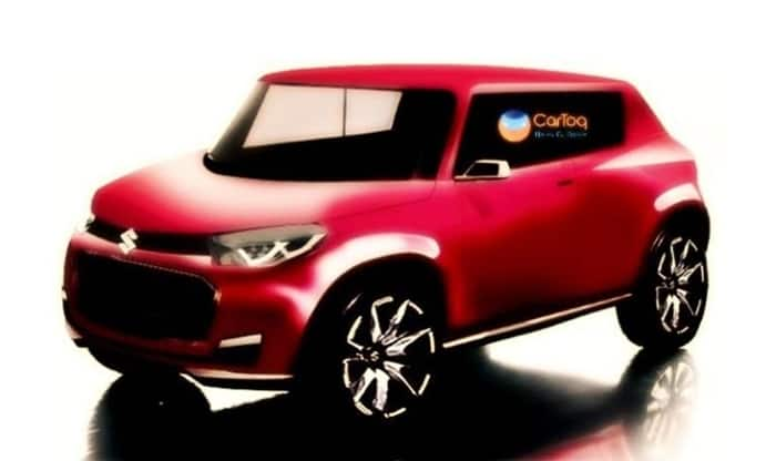 Maruti Future S Production render image red