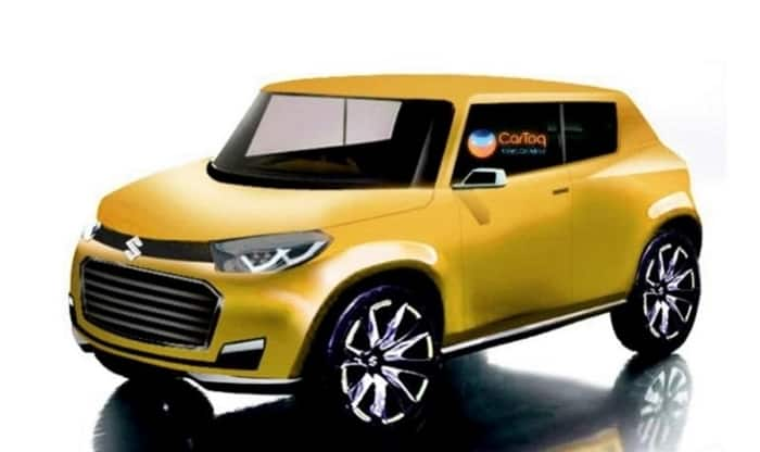 Maruti Future S Production render image yellow