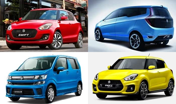 New Maruti Suzuki Swift, Ertiga Crossover MPV and 2018 WagonR India Launch this Year