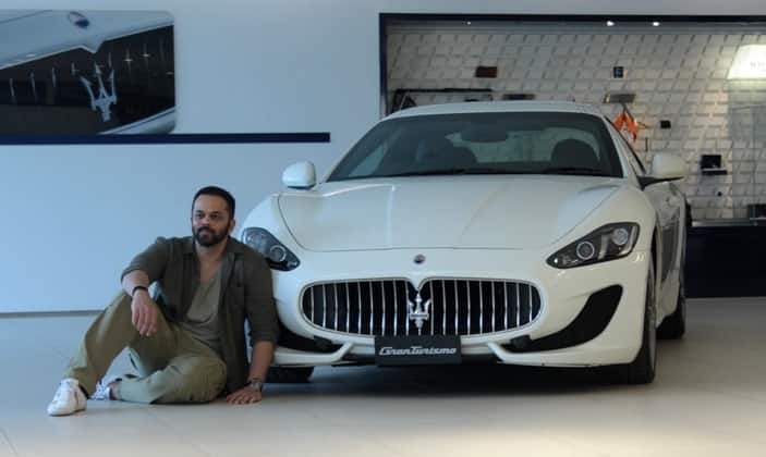 Wonderful Rohit Shetty Gifts Himself Brand New Maserati GranTurismo Sport