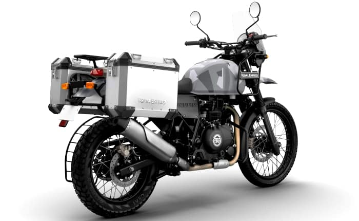 Royal Enfield Himalayan Sleet Rear With Accessories_1