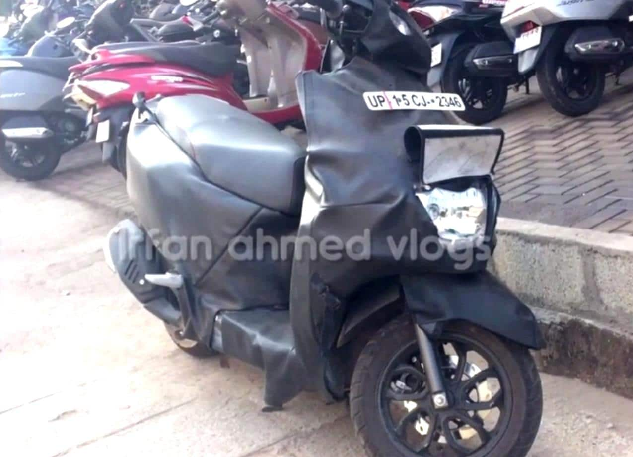 TVS Graphite Scooter Spied Testing Again; India Launch