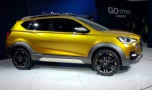 Datsun Cross Spied Ahead of Global Debut; India Launch Soon
