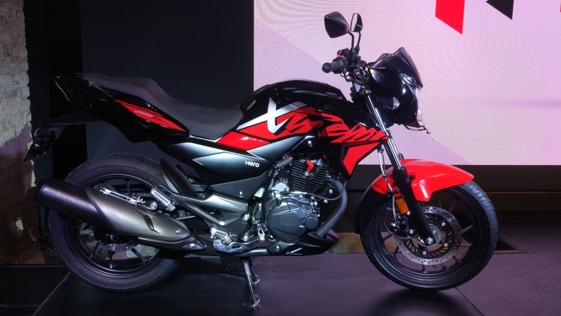Hero Xtreme 200R Unveiled in India; Launch Likely at Auto Expo 2018