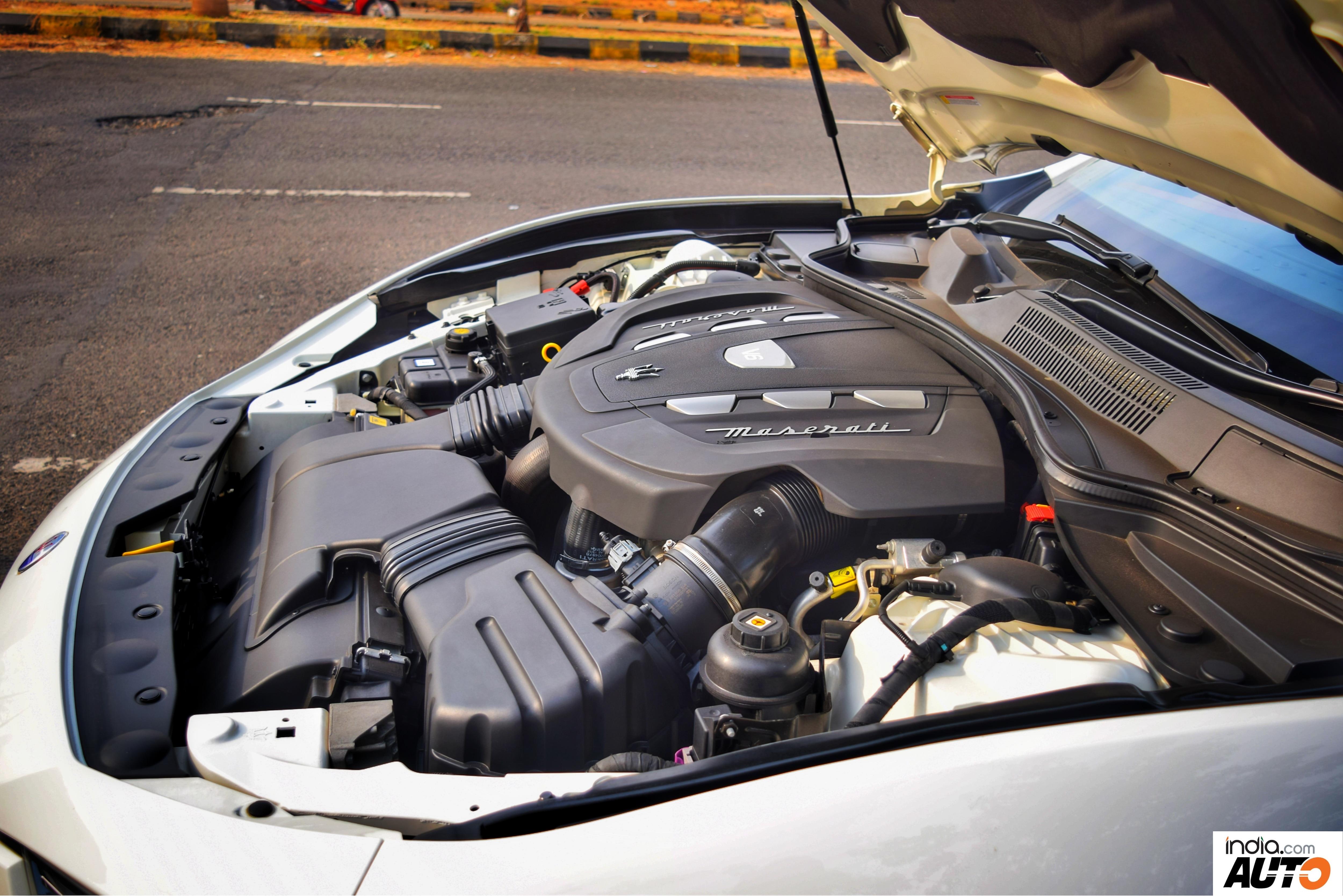 Maserati Ghibli 3.0L V6 Diesel Engine