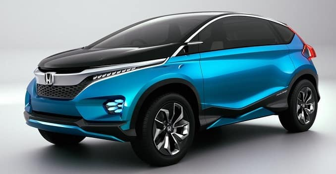 Honda Working On Compact SUVs Based On Honda Amaze Platform