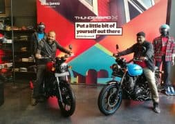 Royal Enfield Thunderbird 350X, 500X Launched in India – Launch Highlights
