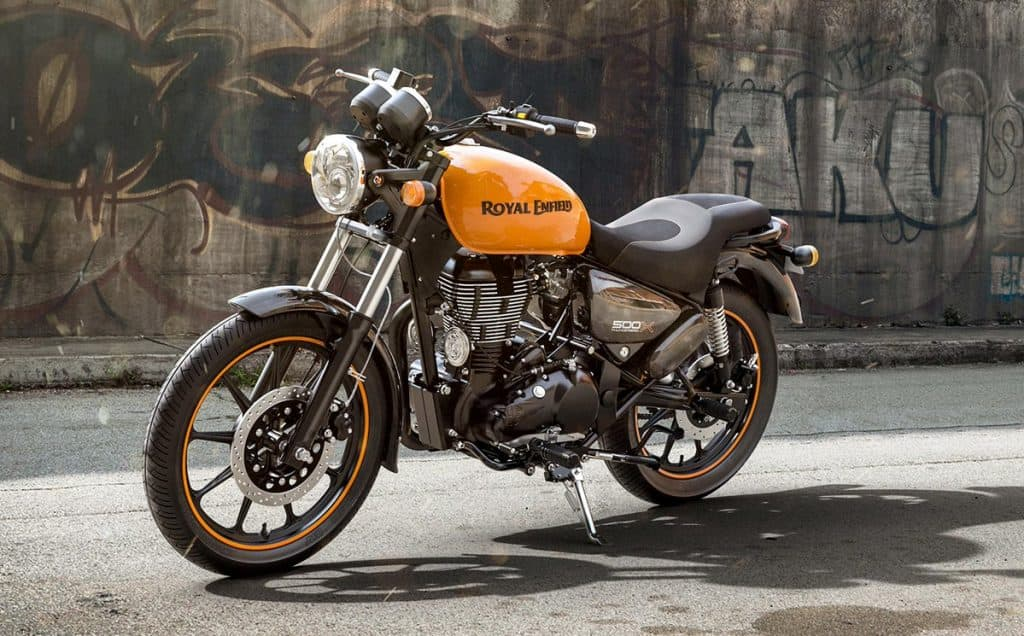 Royal Enfield Thunderbird X Getaway Orange