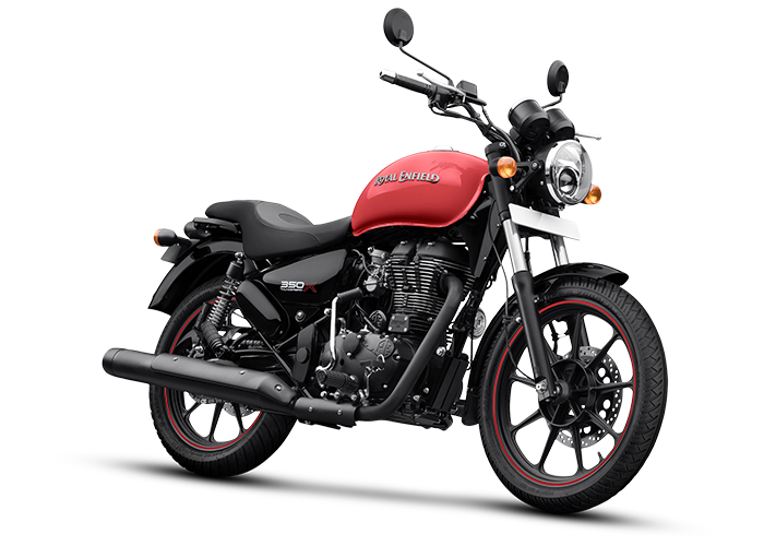 Royal Enfield Thunderbird X Roving Red Front Quarter