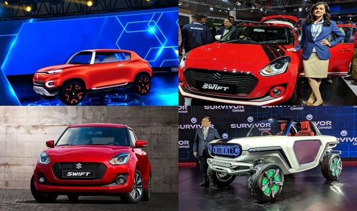 Maruti Suzuki Cars at Auto Expo 2018: New Swift 2018, Future S Concept, e-Survivor Showcased