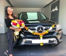 Neha Kakkar Gifts Herself a Brand New Mercedes-Benz GLS 350 SUV