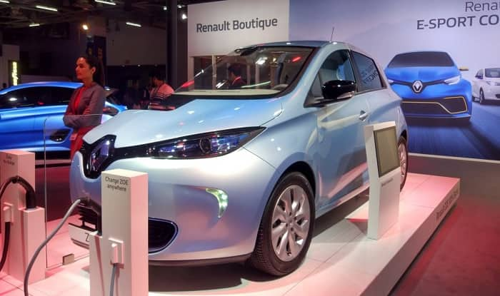 Auto Expo 2018: Renault unveils electric vehicle sports car Trezor