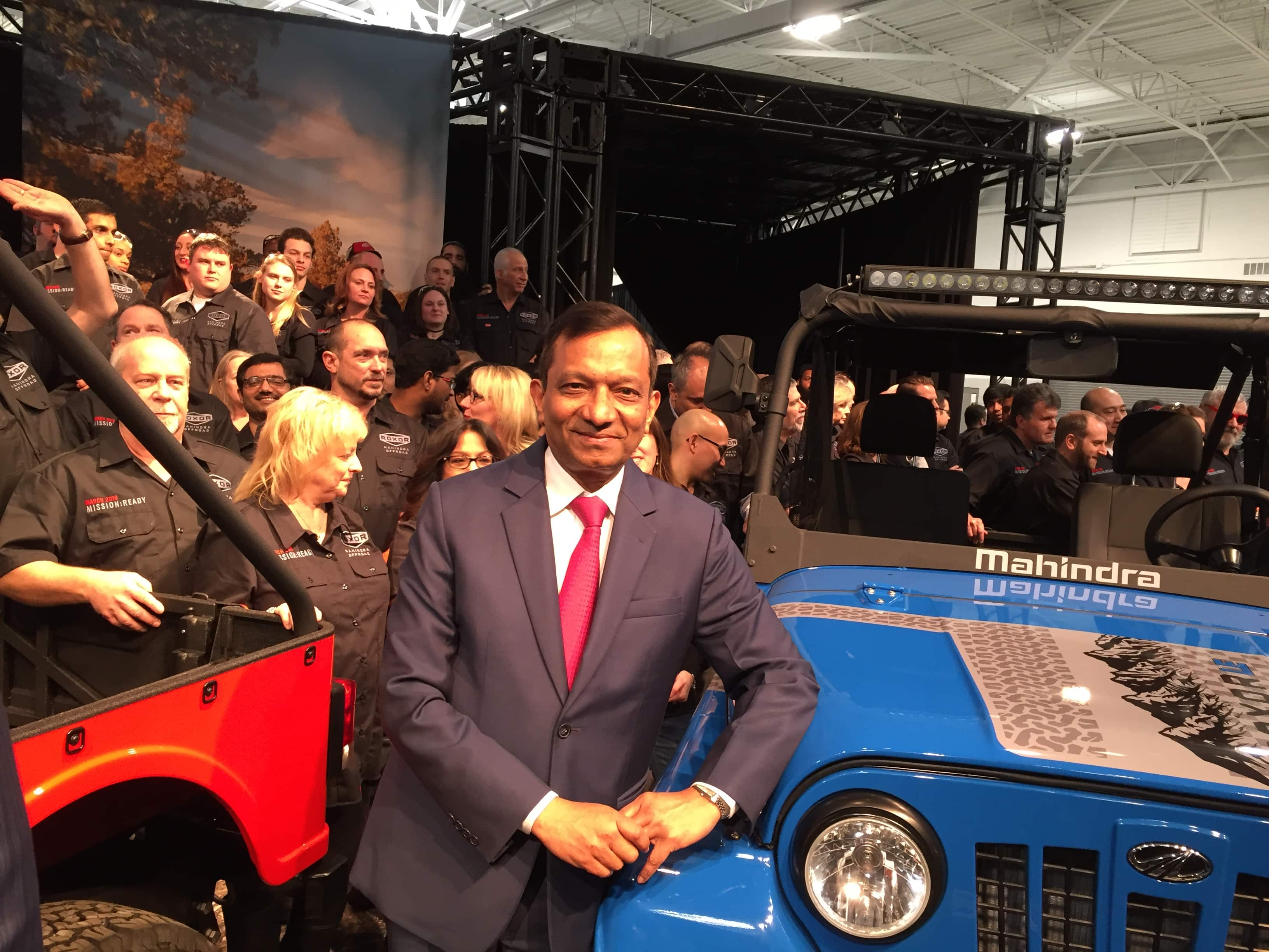 Mahindra Roxor Officially Unveiled For Usa Market Price