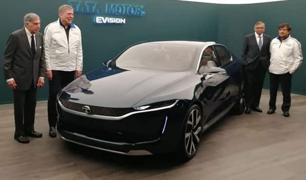 Tata EVision Concept Front