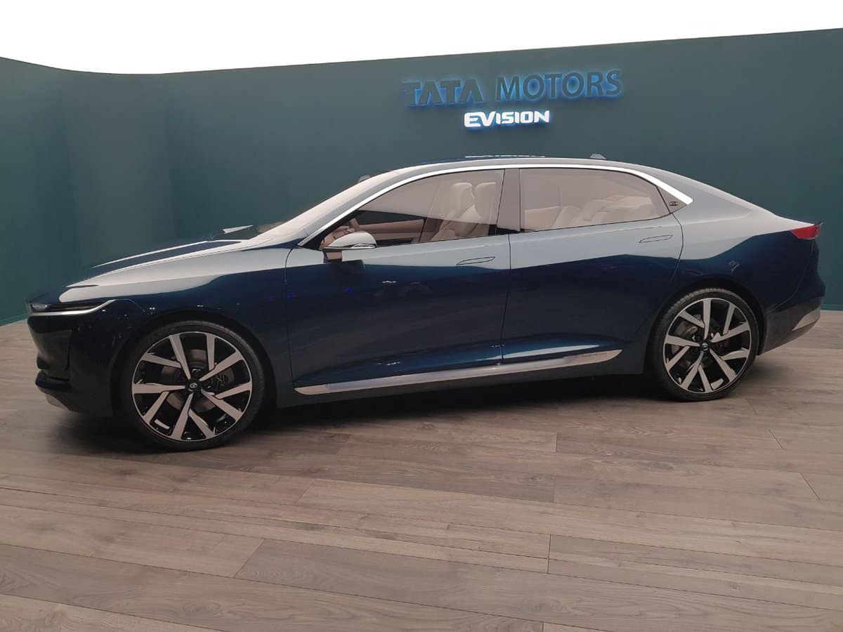 Tata EVision Concept Side Profile