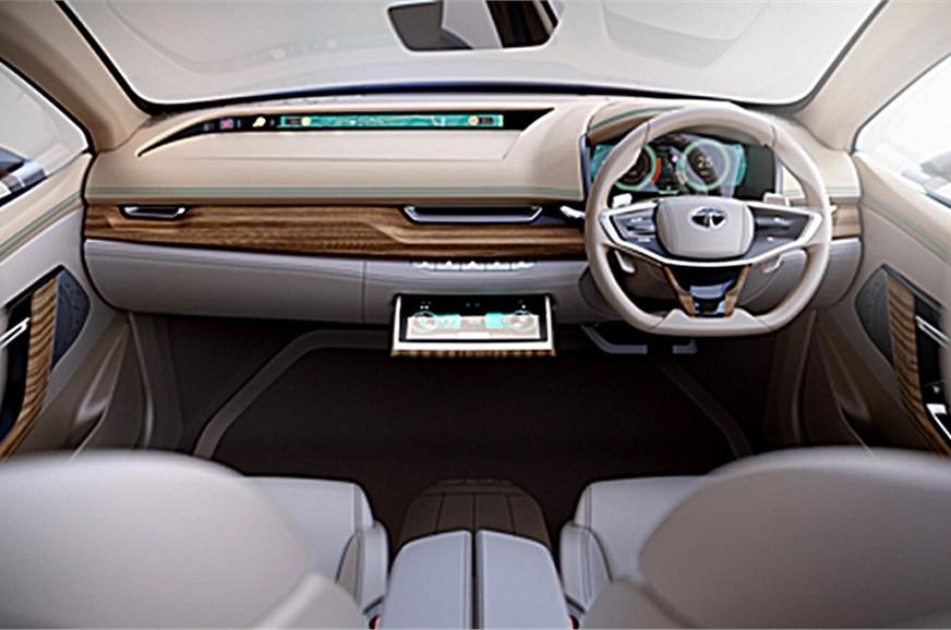 Tata Evision Electric Sedan Concept Unveiled Alongside H5x