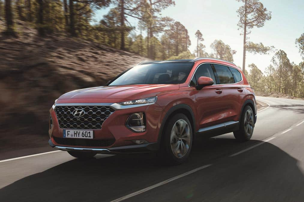 New Hyundai Santa Fe 2018 Showcased At Geneva Motor Show