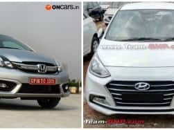 2017 Hyundai Xcent facelift vs Honda Amaze: Expected price, features and specifications