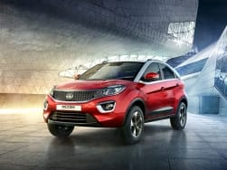 Tata Nexon production version appears without camouflage: Launching soon in India