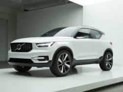 Volvo XC40 small SUV teased; to offer a host of customization options