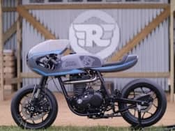 Royal Enfield showcases custom built Surf Racer & Gentleman Brat at Wheels and Waves