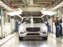 India bound Volvo XC60 productions commences in Sweden