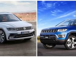 Jeep Compass Vs Volkswagen Tiguan: Price, features & specifications comparison