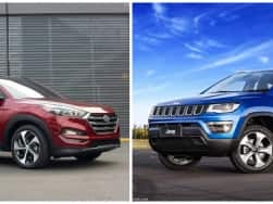 Jeep Compass Vs Hyundai Tucson: Price in India, specifications & features