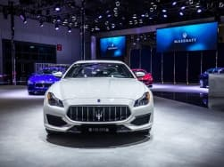 Maserati celebrates the delivery of their 1 lakh unit at Shanghai Auto Show 2017