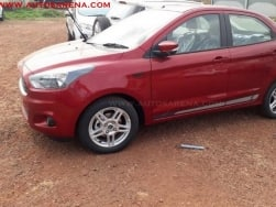 Upcoming Ford Figo Aspire Sport spotted ahead of its launch!