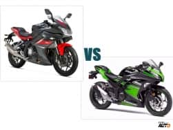 DSK Benelli 302R vs Kawasaki Ninja 300 Comparison Report: Price, specifications, features, pictures & colours