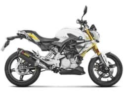 Video : Akrapovic introduces exhaust systems for BMW G310R, Sound note inside