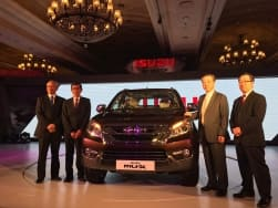 Isuzu MU-X launch Live: Get Live Updates Price, features, specifications