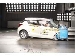 New Suzuki Swift scores three stars in EURO NCAP safety tests; Skoda Kodiaq gets five