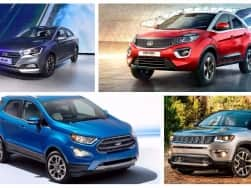 Cars and SUVs launching in India this festive season: Ford EcoSport Facelift, 2017 Hyundai Verna, Jeep Compass & Tata Nexon