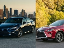 Lexus RX450h SUV and ES300h sedan launched in India