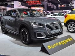 India bound Audi Q2 breaks cover at the 2017 Bangkok International Motor Show