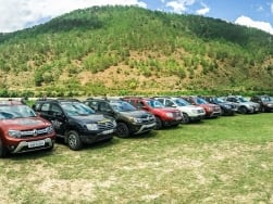 Gang of Duster's first ever international drive finishes in Siliguri