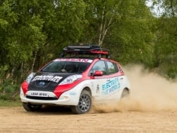 Nissan Leaf: The first EV ever to take a shot at Mongol rally
