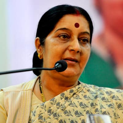 Meet Sushma Swaraj