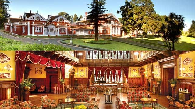 Fernhill Royaal Palace in Ooty