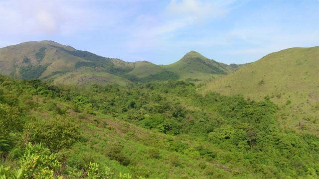Thadiyandamol peak in Coorg