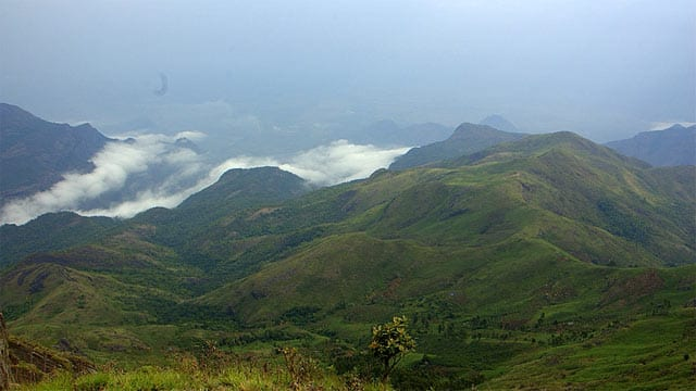 Misty hills of Kodaikanal