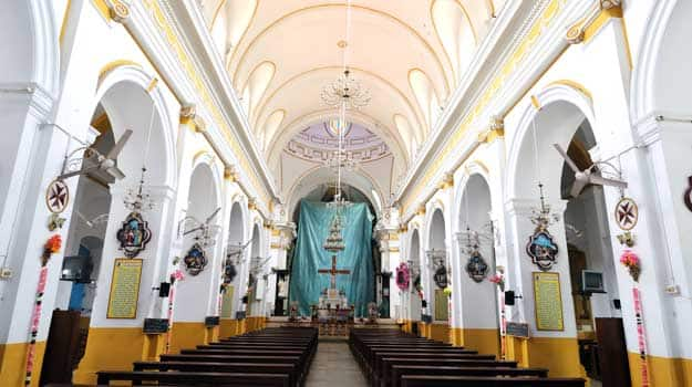 Pondicherry-French-architecture-church