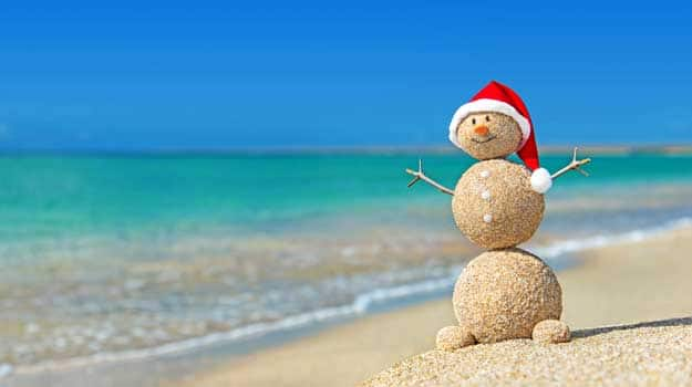 Why beaches are the best places to celebrate Christmas ...