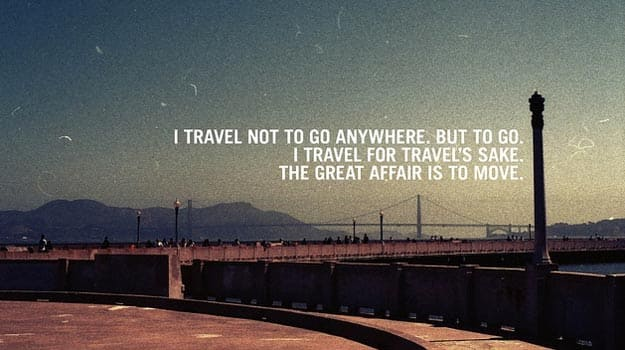 I-travel-not-to
